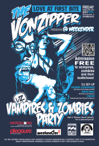 VonZipper Vampires & Zombies Party / Air & Style 2011